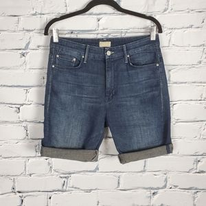 Mother High Waisted Looker Shorts